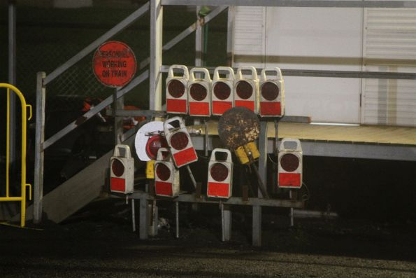 Collection of ETM devices in freight yard