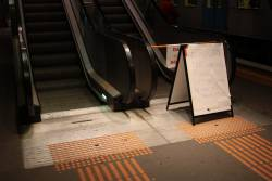 Another day, another failed escalator at North Melbourne station