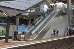This time an escalator at North Melbourne platform 2/3 has broken down