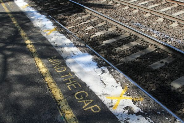 Crumbling platform edge marked for replacement at Strathmore station