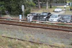 Whole lot of dud rail marked for replacement at Oakleigh