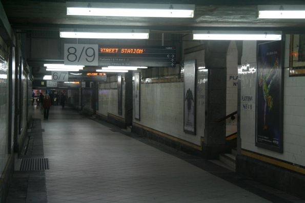 Centre Subway looking north