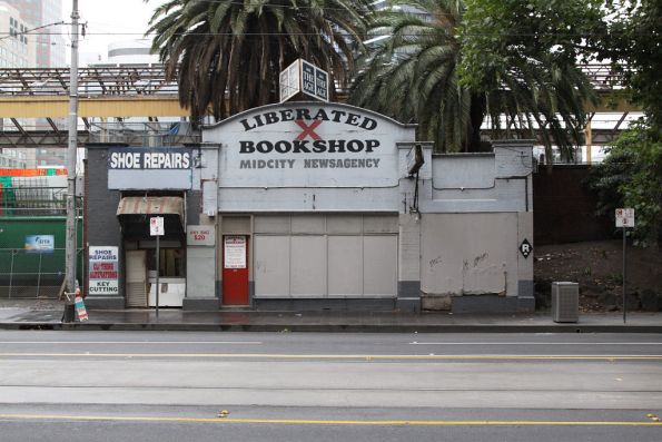 Porno bookshop on Flinders Street, closed down for good?