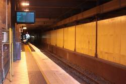 After a million years of waiting, next train displays have finally been installed at the east end of Flinders Street platform 5