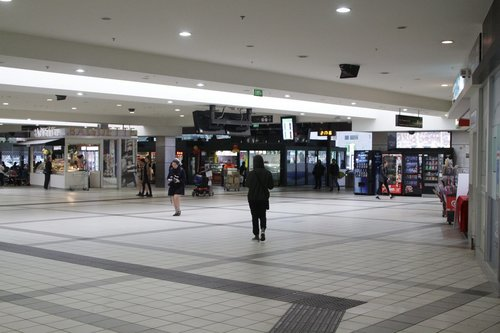 Southern end of the Swanston Street concourse