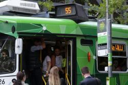 Still can't fit onboard the tram?