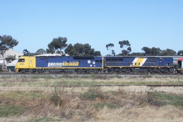 AN5 and XRB561 stabled at the Adelaide Freight Terminal