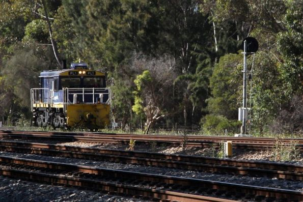 PL1 arrives at Torrens Junction on the way for servicing to Dry Creek