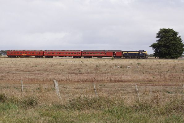 Running parallel to the Midland Highway