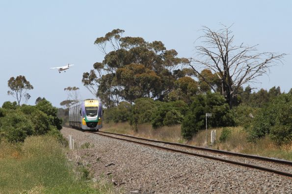 VLocity transfers on the Geelong-Ballarat line