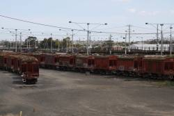VHCA cement wagons moved to North Geelong Yard and abandoned