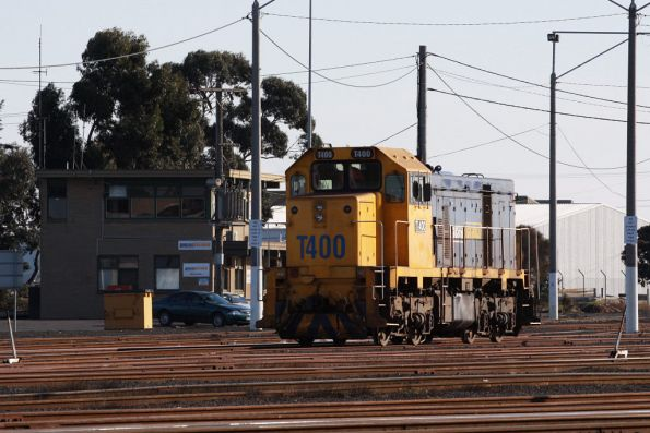 T400 heads past the PN crew depot
