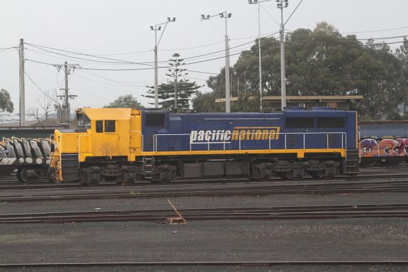 XR554 stabled at North Geelong Yard