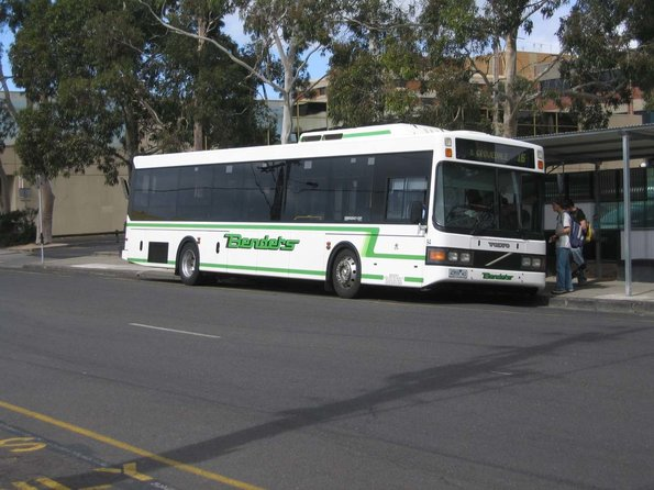 Benders #94 4359AO waits for passengers on Little Malop Street with a route 16 service