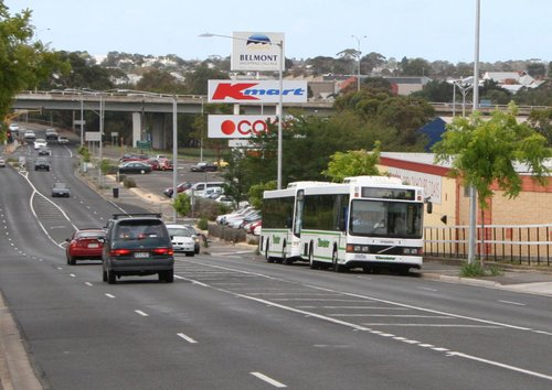 Buses on route 16 and 19 run once an hour on a Sunday, but leave the city just a few minutes apart. Downright idiotic!