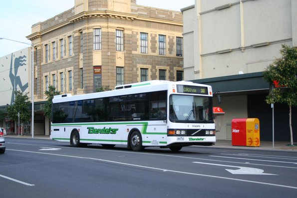 Benders #99 4567AO westbound on route 30 at Malop and Moorabool Street
