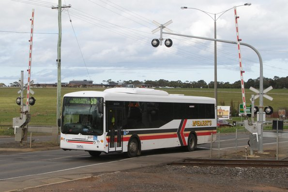 McHarry's #26 1526AO on a Geelong bound route 50 service on Torquay Road, Grovedale