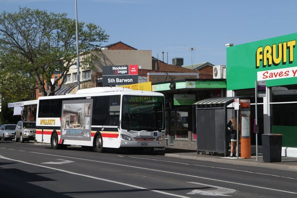 McHarry's 1562AO on route 41 heads south on High Street, Belmont