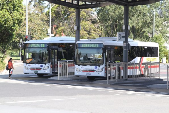 McHarry's #192 BS02RX and #174 9174AO at Geelong station