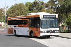 CDC Geelong bus #88 3487AO on route 1 at Geelong station