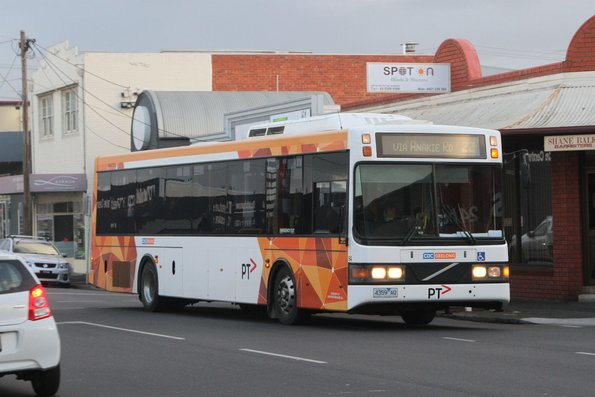 CDC Geelong bus #94 4359AO on a route 22 service on Pakington Street Geelong West