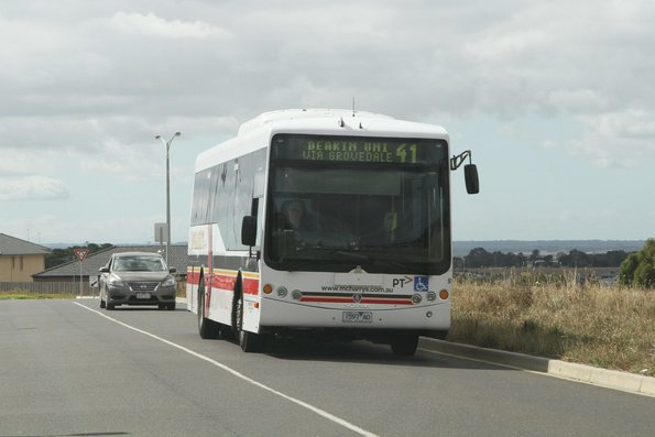McHarry's bus #97 1597AO on route 41 at Waurn Ponds station