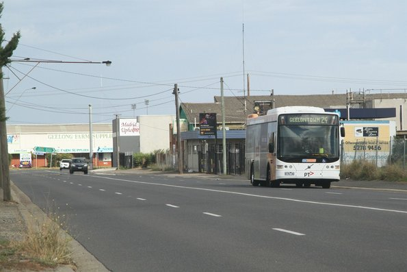CDC Geelong #130 8176AO on route 24 along Duro Street, North Geelong