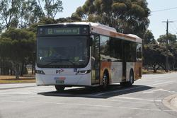 CDC Geelong bus #153 BS03DL on route 1 at St Georges Road and Princes Highway