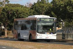 CDC Geelong bus #22 7388AO on route 23 at North Shore station