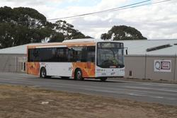 CDC Geelong bus 7818AO out of service on Thompson Road, North Geelong