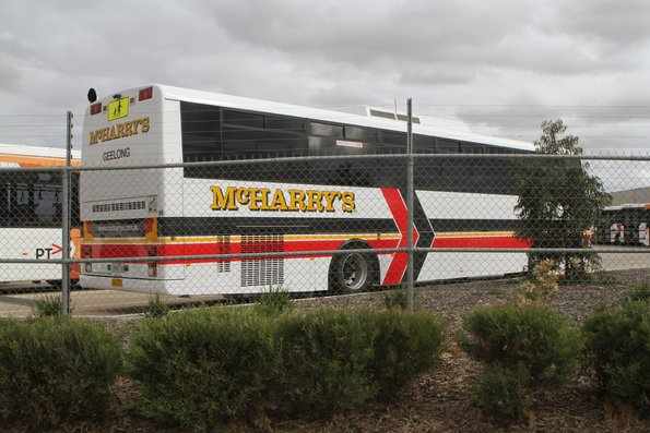MCHarry's coach #168 7668AO in the CDC Melbourne Wyndham depot