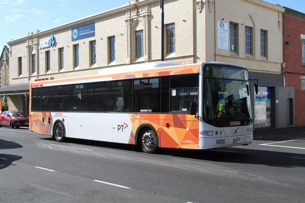 CDC Geelong bus #130 8176AO on route 22 along Pakington Street, Geelong West