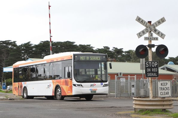 CDC Geelong bus #145 BS00RT out of service in Lara