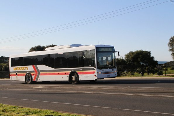 McHarry's bus 7352AO on route 51 along the Great Ocean Road in Torquay