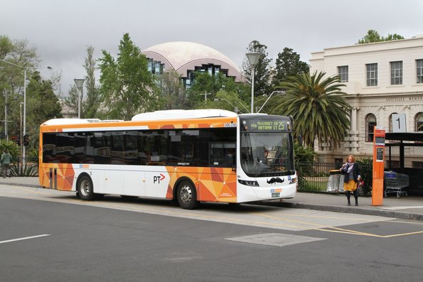CDC Geelong bus #168 BS04MG on route 25 at Geelong station