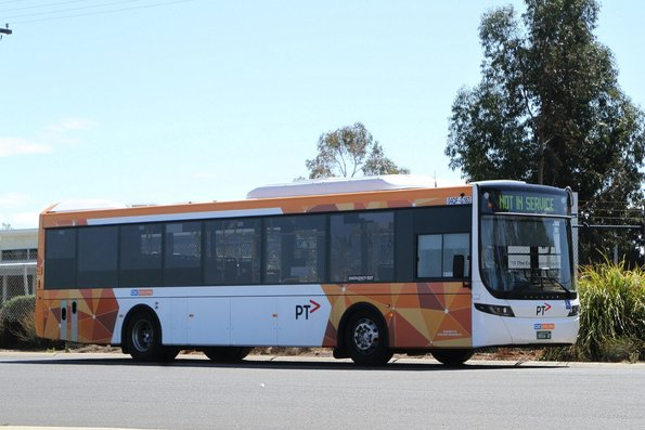 CDC Geelong bus #163 BS04QF at the route 23 terminus in North Shore