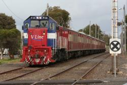 P12+P16 in the siding at South Geelong