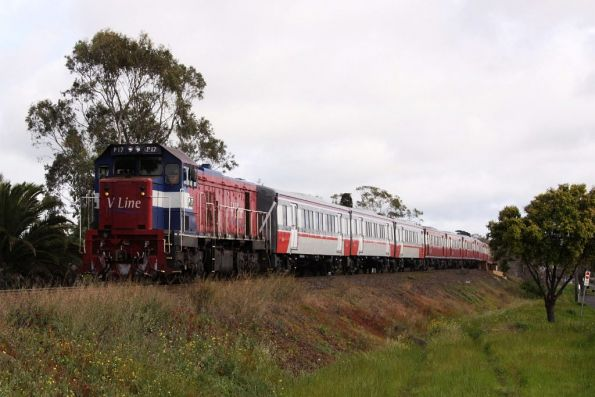 P17 finally arrives into South Geelong