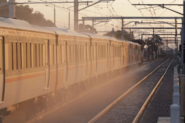 Off into the sunset bound for Geelong