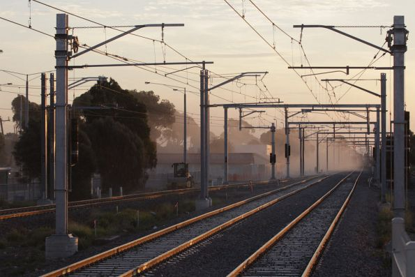 Some visibility returns to Laverton