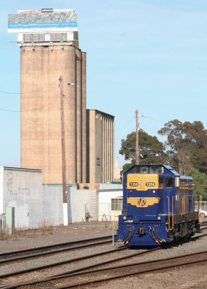 T356 running around at Geelong