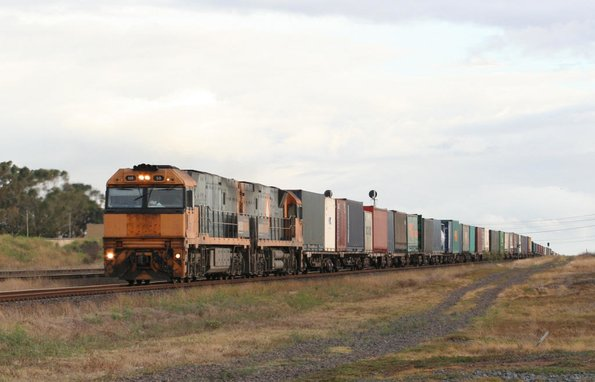 NR50 and NR80 on the up at North Shore