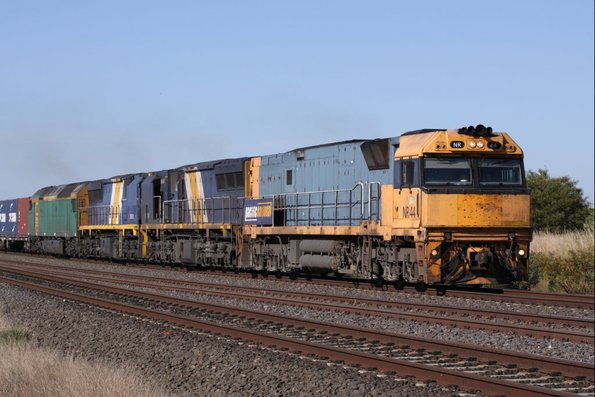 You forget how loud three EMD locos can be, when it is usually just NRs everywhere