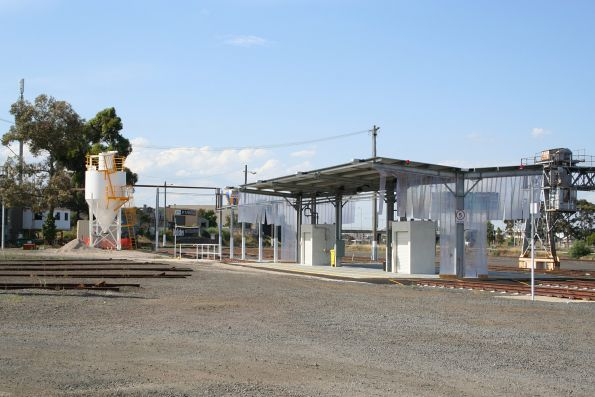 Fuel point at the Geelong locomotive depot finally completed