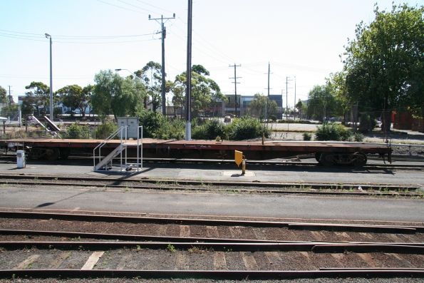 Geelong V/Line carriage yards