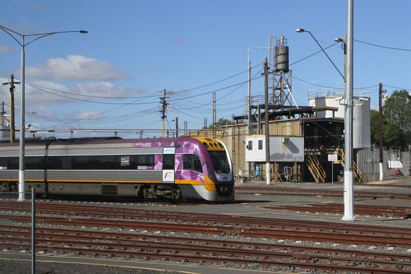 VLocity VL05 stabled at Geelong Loco