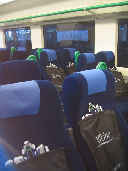 Free showbags for the passengers on the first service