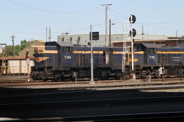 T364 outside the Gemco sheds at South Dynon