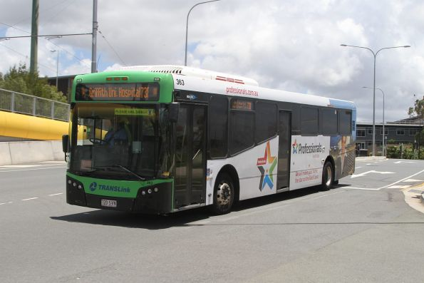 Surfside bus #363 720SVN on route 738 at Griffith University