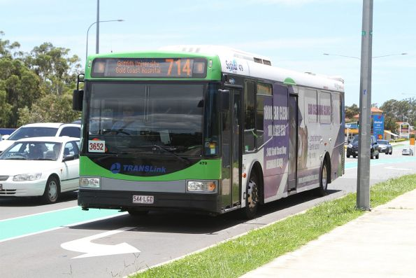 Surfside bus #479 544LGD on route 714 at Gold Coast University Hospital
